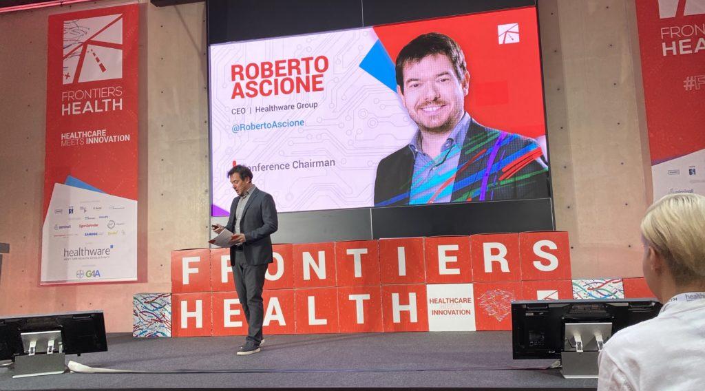 Roberto Ascione at Frontiers Health 2019
